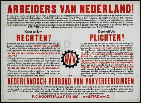 Arbeiders van Nederland!