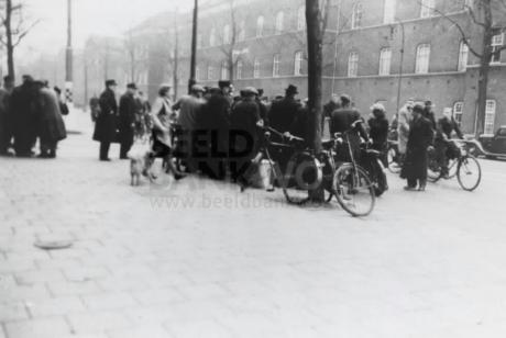 Februaristaking in de Sarphatistraat